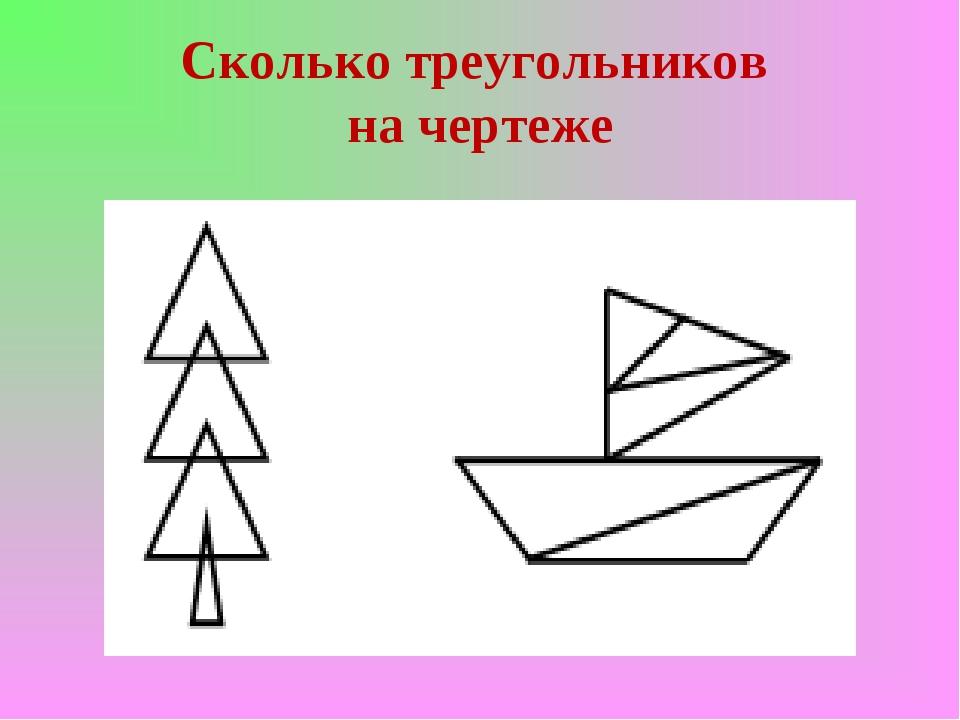 Сколько треугольников на чертеже