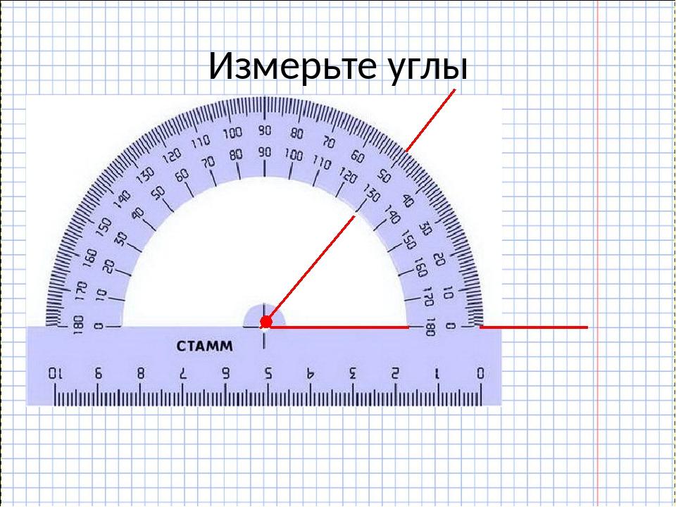 Измерьте углы